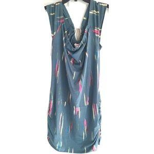 🎀5/$25🎀 CHARLOTTE RONSON Green Pattern Dress